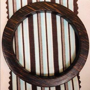 Jewelry - Bamboo Wooden Bangle Bracelet Dark Brown Women's